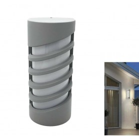 APPLIQUE A LED 12 WATT LAMPADA DA PARETE PER ESTERNO LUCE NATURALE 4000K ES56-GN