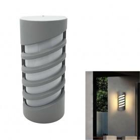 APPLIQUE A LED 12 WATT DA PARETE LAMPADA PER ESTERNO LUCE CALDA 3000K ES56-GC