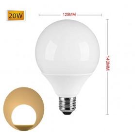 LAMPADINA LED 20 W LAMPADA GLOBO SFERA LUCE NATURALE E27 G125