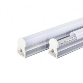 SOTTOPENSILE BARRA LED NEON T5 TUBO PLAFONIERA LUCE BIANCA  6500 K 50 CM