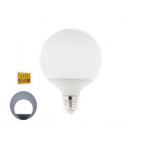 LAMPADINA LED 12 WATT ATTACCO E27 GLOBO SFERA LUCE BIANCA 6500K