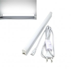 SOTTOPENSILE LUCE BIANCA 6500K NEON T5 SPINA INTERRUTTORE ON OFF CAVO 220V T5-50