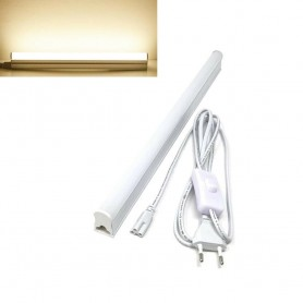 SOTTOPENSILE LUCE CALDA 3000K SPINA INTERRUTTORE ON OFF NEON 9 W T5-50 CAVO 220