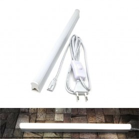 SOTTOPENSILE LUCE NATURALE 4000K SPINA INTERRUTTORE ON OFF NEON 9 W T5 CAVO 220V