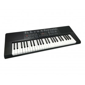 PIANOFORTE TASTIERA MUSICALE PIANOLA . ELETTRICA 49 TASTI BIANCHI E NERI MICROFONO