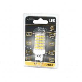 LAMPADINA LED ATTACCO G9 7W LUCE CALDA 3000K
