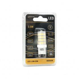 LAMPADINA LED ATTACCO G9 3.5W LUCE NATURALE 4000K