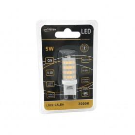 LAMPADINA LED ATTACCO G9 5W LUCE CALDA 3000K