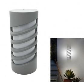 APPLIQUE A LED 12 WATT LAMPADA DA PARETE PER ESTERNO LUCE BIANCA IP65 ES56-GF