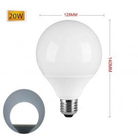LAMPADINA LED 20 W LAMPADA GLOBO SFERA LUCE BIANCA E27 G125