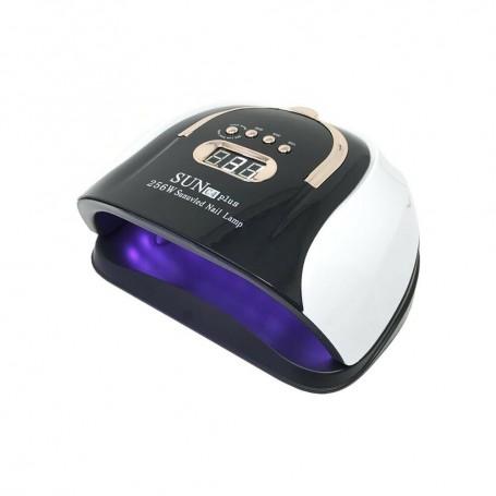 LAMPADA 57 LED UV RICOSTRUZIONE UNGHIE SUN C4 PLUS 256 W ASCIUGA SMALTO GEL
