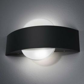 APPLIQUE LED 8 WATT A PARETE LAMPADA LUCE BIANCA DOPPIA EMISSIONE E17-NF