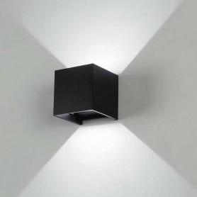 APPLIQUE LED LUCE BIANCA FARETTO DA PARETE PER ESTERNO INTERNO 12 W 6500K IP65 ES46NF
